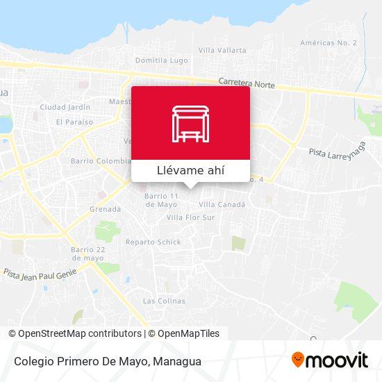 Mapa de Colegio Primero De Mayo