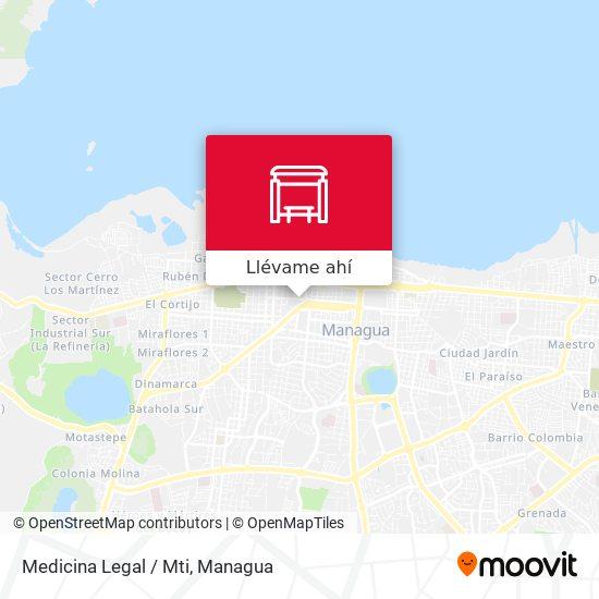 Mapa de Medicina Legal / Mti