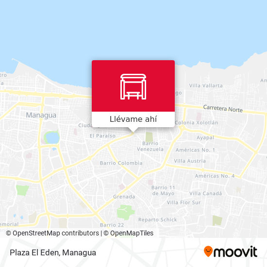 Mapa de Plaza El Eden