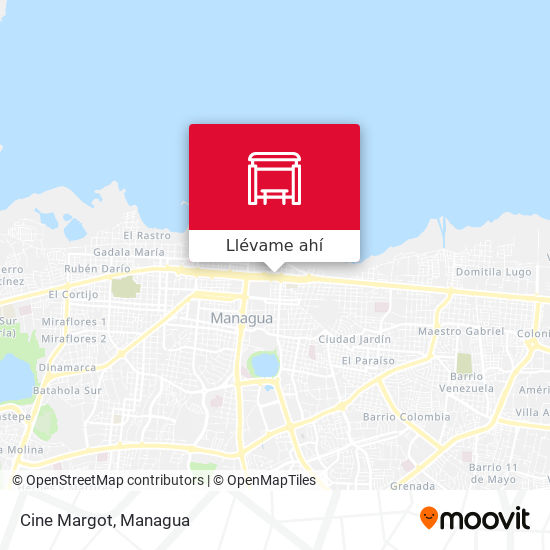 Mapa de Cine Margot