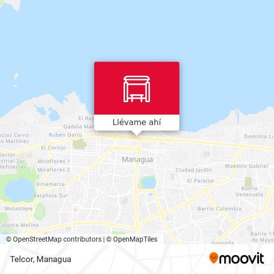 Mapa de Telcor