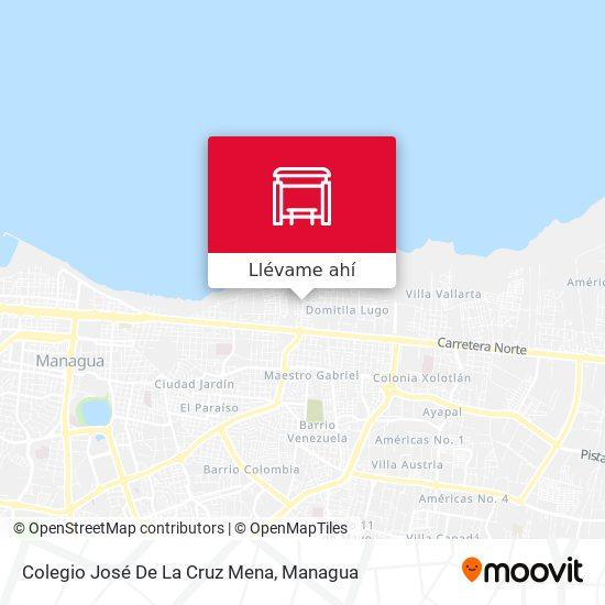 Mapa de Colegio José De La Cruz Mena