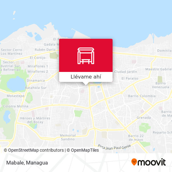 Mapa de Mabale