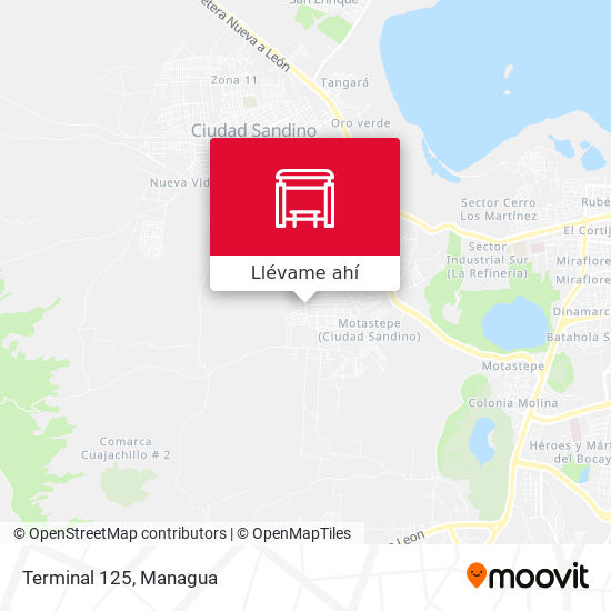 Mapa de Terminal 125
