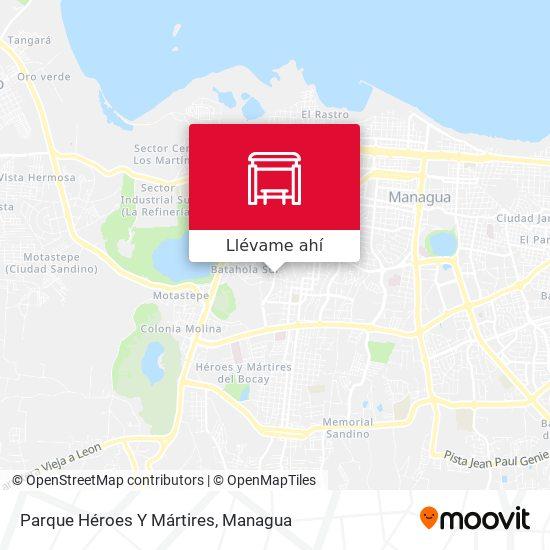 Mapa de Parque Héroes Y Mártires