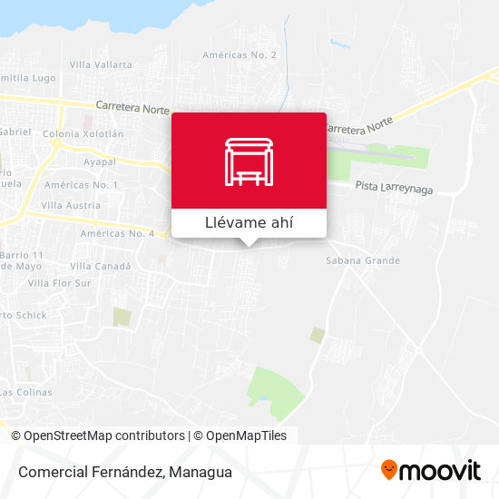 Mapa de Comercial Fernández