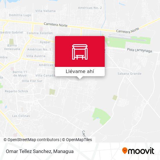 Mapa de Omar Tellez Sanchez