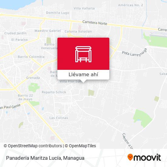 Mapa de Panadería Maritza Lucía