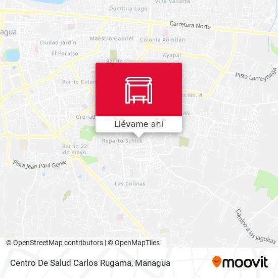Mapa de Centro De Salud Carlos Rugama