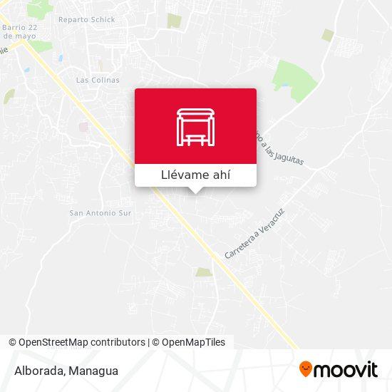 Mapa de Alborada