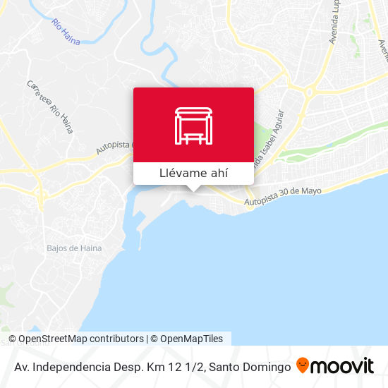 Mapa de Av. Independencia Desp. Km 12 1 / 2
