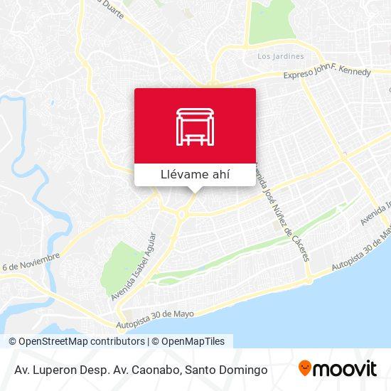 Mapa de Av. Luperon Desp. Av. Caonabo