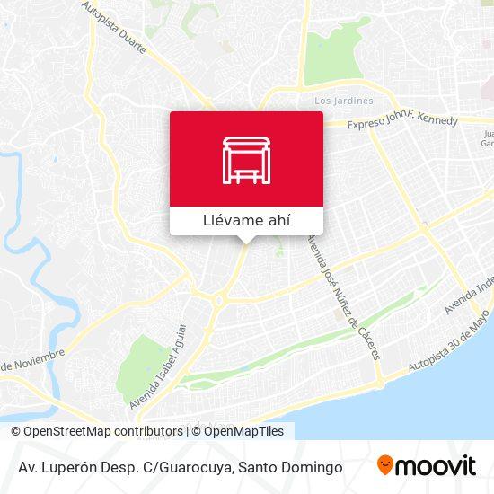 Mapa de Av. Luperón Desp. C/Guarocuya