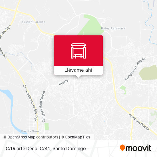 Mapa de C/Duarte Desp. C/41