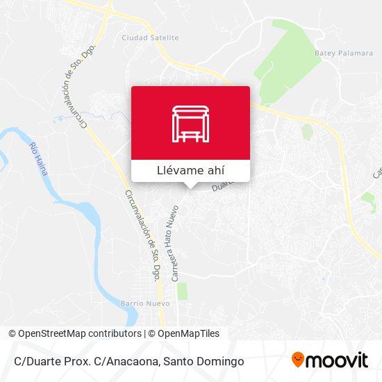 Mapa de C/Duarte Prox. C/Anacaona