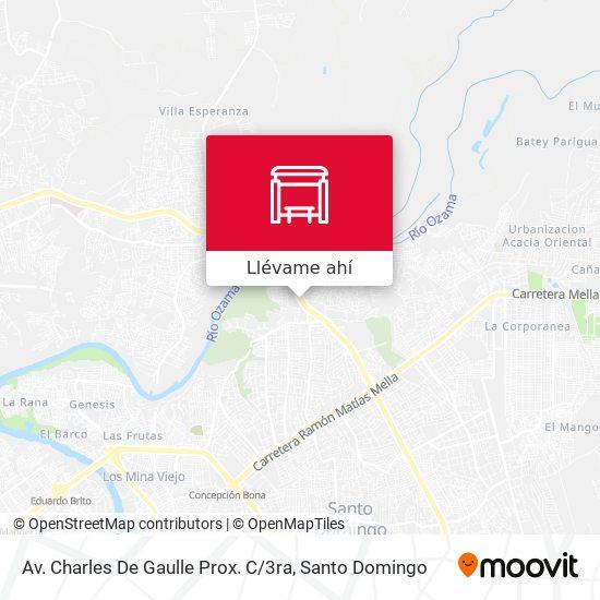 Mapa de Av. Charles De Gaulle Prox. C / 3ra