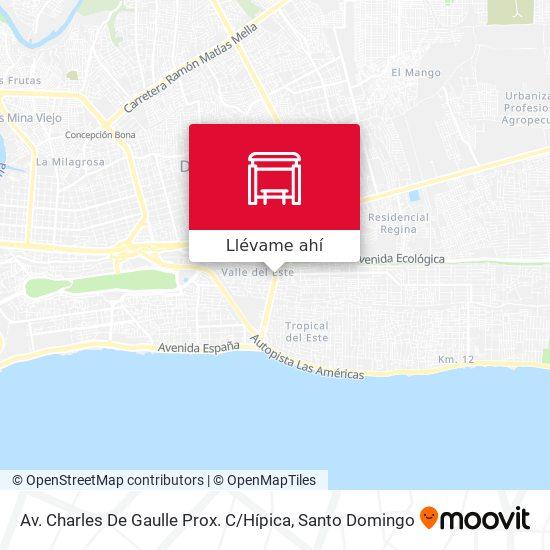 Mapa de Av. Charles De Gaulle Prox. C / Hípica