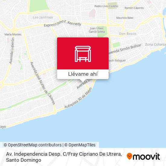 Mapa de Av. Independencia Desp. C / Fray Cipriano De Utrera
