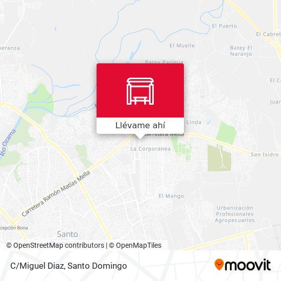Mapa de C/Miguel Diaz