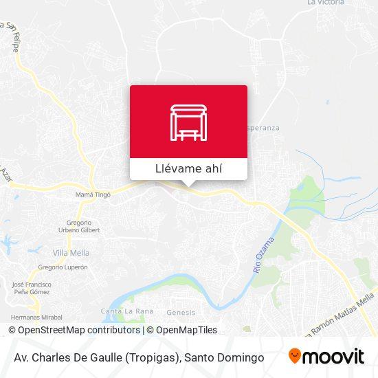 Mapa de Av. Charles De Gaulle (Tropigas)
