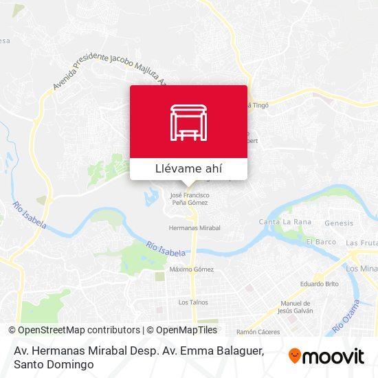Mapa de Avenida Hermanas Mirabal, 143