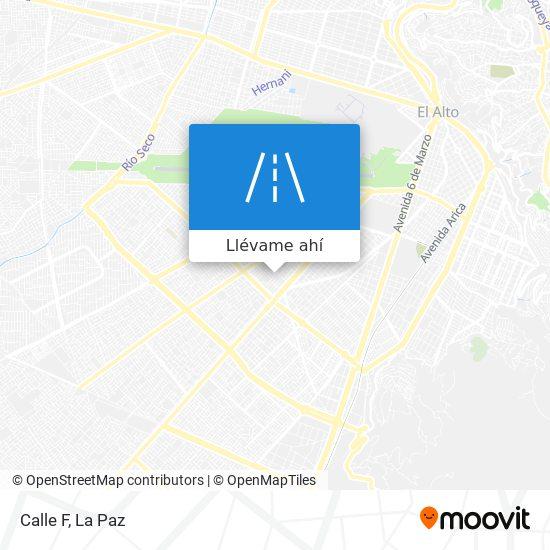 Mapa de Calle F
