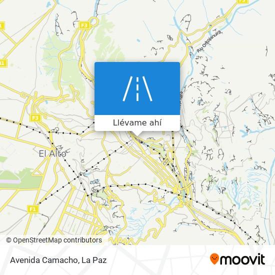 Mapa de Avenida Camacho
