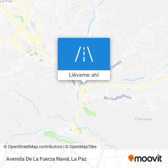 Mapa de Avenida De La Fuerza Naval