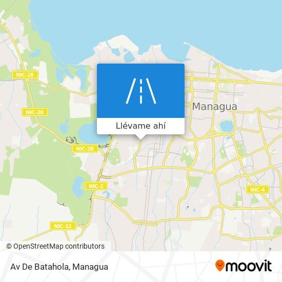 Mapa de Av De Batahola