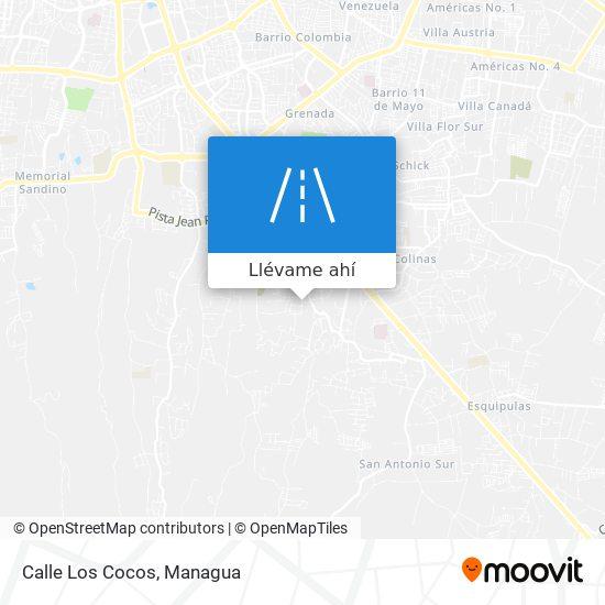 Mapa de Calle Los Cocos