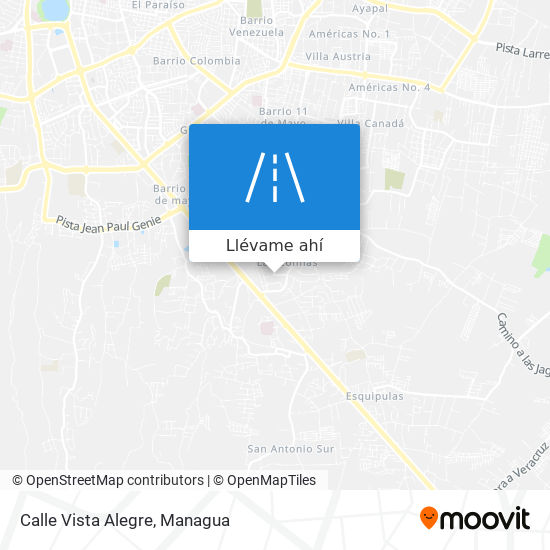 Mapa de Calle Vista Alegre