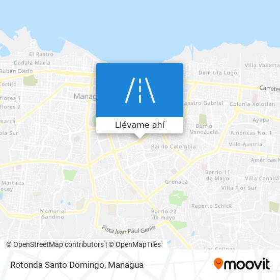 Mapa de Rotonda Santo Domingo
