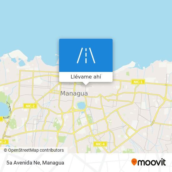 Mapa de 5a Avenida Ne