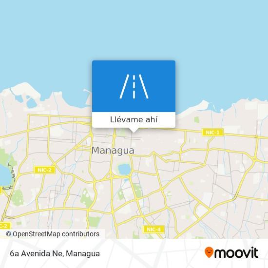 Mapa de 6a Avenida Ne