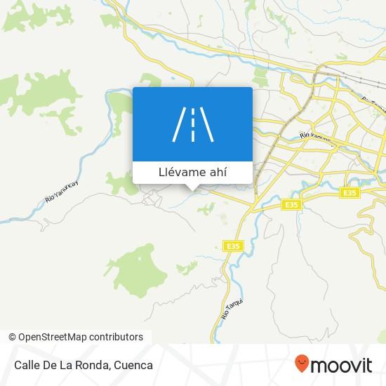 Mapa de Calle De La Ronda