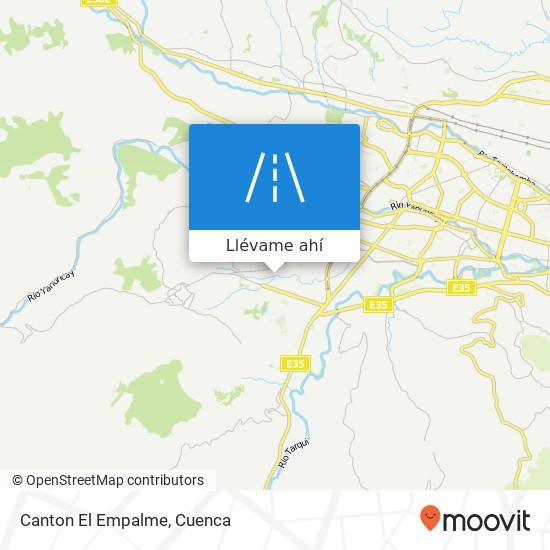 Mapa de Canton El Empalme