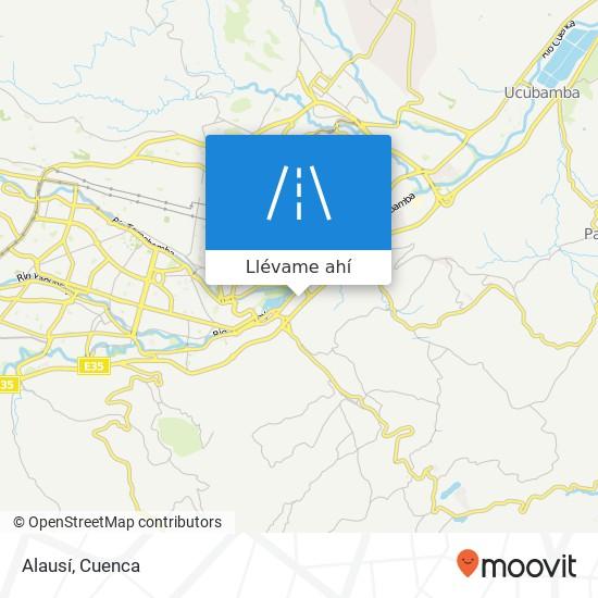 Mapa de Alausí