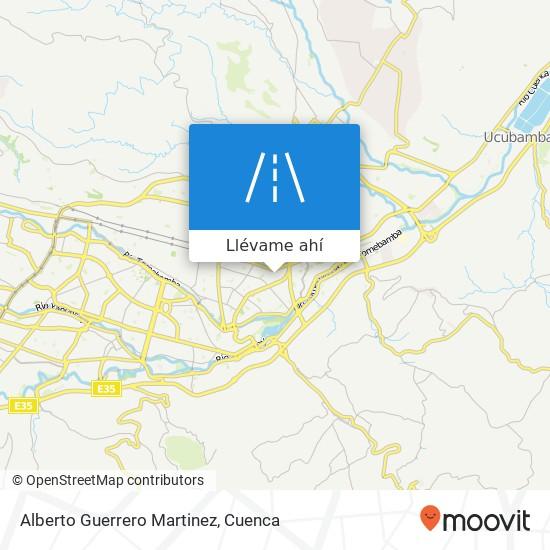 Mapa de Alberto Guerrero Martinez