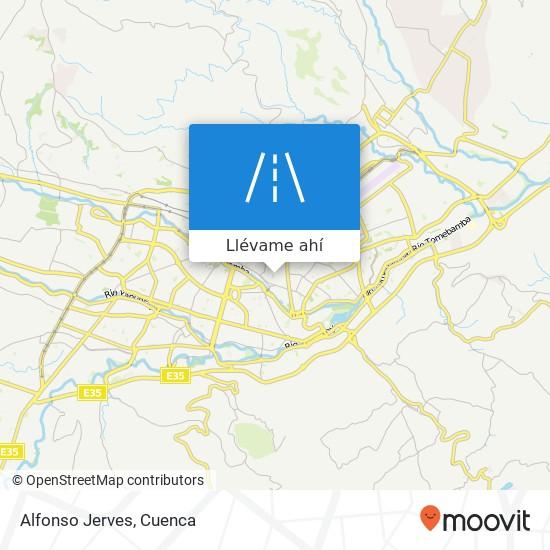 Mapa de Alfonso Jerves