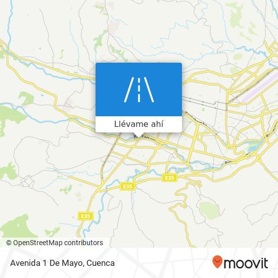 Mapa de Avenida 1 De Mayo