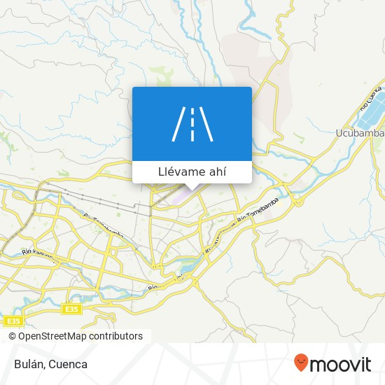 Mapa de Bulán