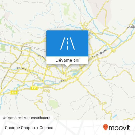 Mapa de Cacique Chaparra