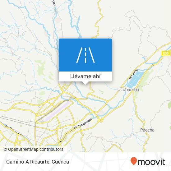 Mapa de Camino A Ricaurte