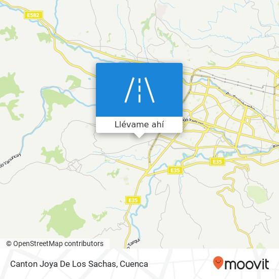 Mapa de Canton Joya De Los Sachas