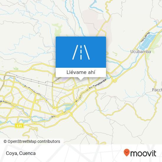 Mapa de Coya