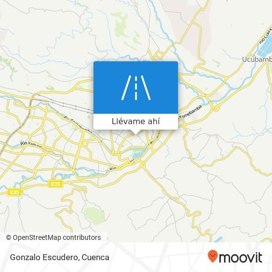 Mapa de Gonzalo Escudero