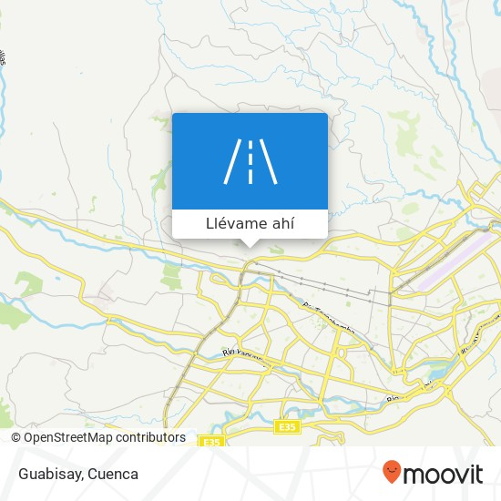Mapa de Guabisay