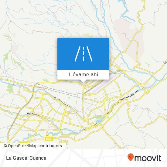 Mapa de La Gasca