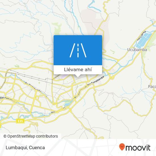 Mapa de Lumbaqui