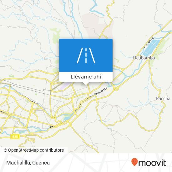 Mapa de Machalilla